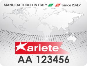 ARIETE AUTHENTICITY